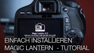MAGIC LANTERN EINFACH INSTALLIEREN (Deutsch / German)