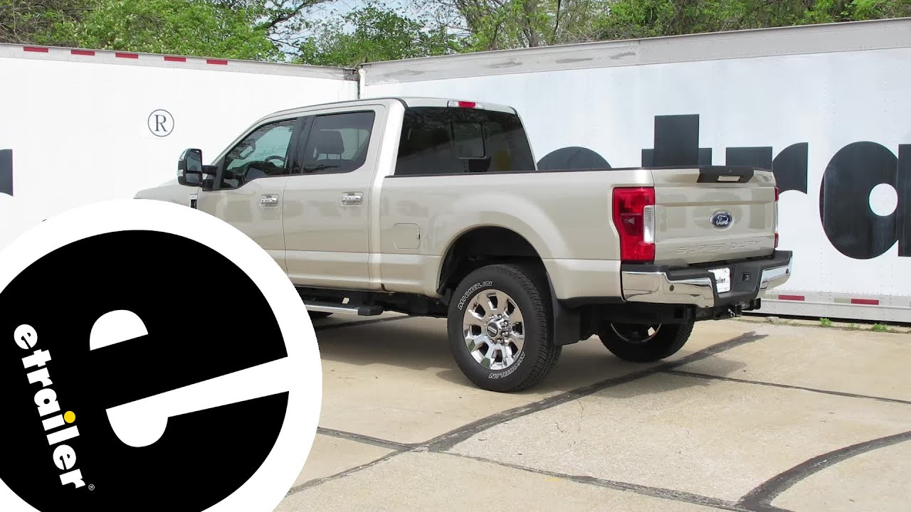 Install Weathertech Front Mud Flaps  Ford F  Super Duty Wt