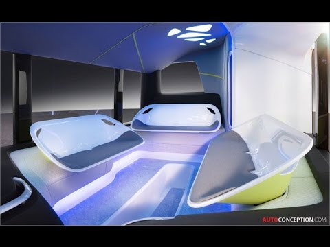 Transportation Design Mercedes Benz 39 Future Bus
