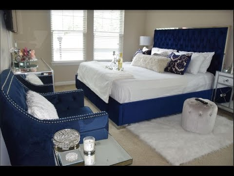 *NEW*Modern Glam Bedroom Tour | Home Decor | Interior Design|Wayfair ~MUST WATCH