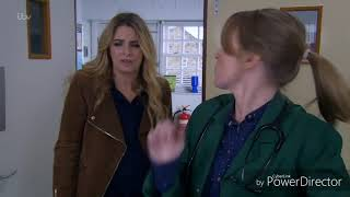 Emmerdale - Charity and Vanessa Kisses (12th March 2018)