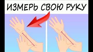 Ваш психологический портрет: измерьте свою руку и узнайте о себе всю правду! Тест!