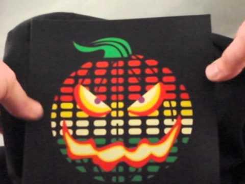 light up halloween shirts