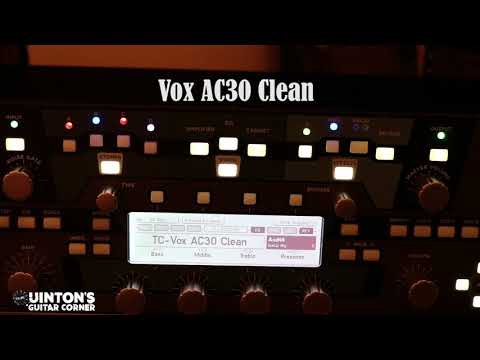 Kemper Clean Profile Demo: Bognor Shiva, Vox AC30, Marshall Plexi Superlead