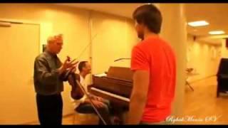 Alexander Rybak and Arve Tellefsen having fun 2009(eng subs).flv
