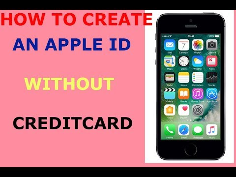 How To Create Apple Id Account Without Credit Card And Free