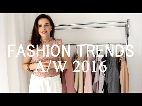 Fashion Trends Autumn/Winter 2016/17-OUTERWEAR