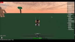 3 kills in a row on attack on titian ROBLOX (For ronan845)