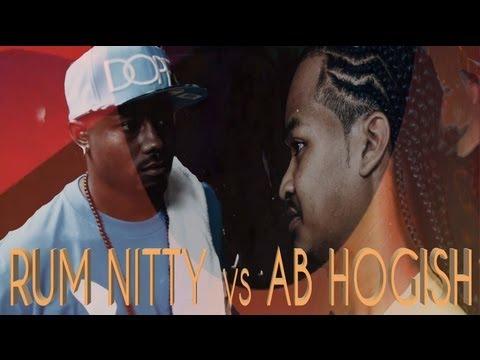 KOTD - Rap Battle - Rum Nitty vs AB Hogish