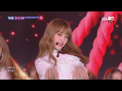 IZ*ONE, La Vie en Rose [THE SHOW 181113]