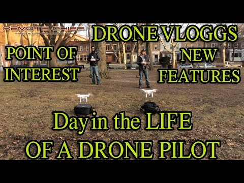 Day in the Life of a Drone Pilot - Dji Phantom 3 Professionals