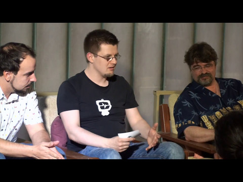 "[DE] Hamburger Indie Treff #14 Teil 1: ""From hero to zero"" - Panel"