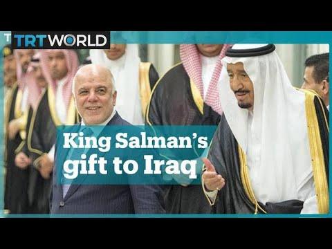 Saudi Arabia's King Salman pledges to build a stadium in Iraq after losing a bet
