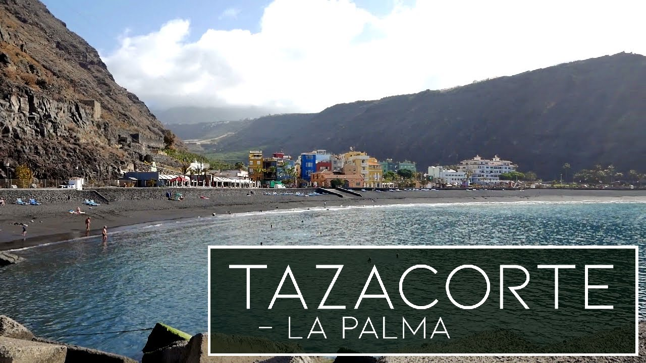 La Palma | Tazacorte - The Beach, Harbour and Old Town