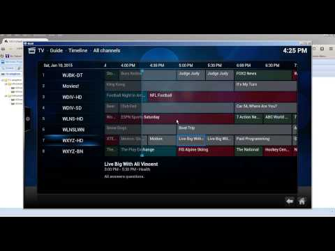 Live TV With Guide From Android Box As A TV Server