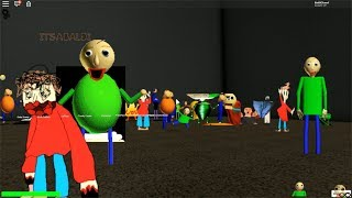 NEW Update | NEW Characters in Baldi RP 3.0 ROBLOX