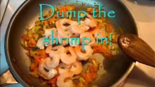 How To Cook Shrimp - Viktoriya's Italian Mushroom Shrimp