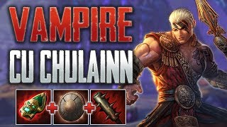 SMITE Conquest: Cu Chulainn Jungle - This Build Is Nutty!