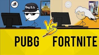 PUBG Gamers vs Fortnite Gamers thumbnail
