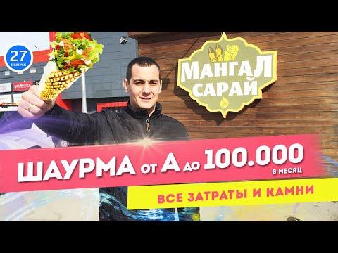 Шаурма от А до 100.000 рублей в месяц. Как открыть бизнес в цифрах.
