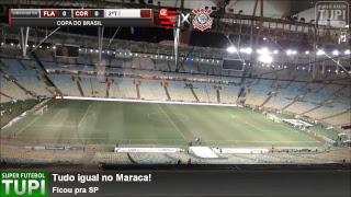 Flamengo 0 x 0 Corinthians - Semifinal - Copa do Brasil - 12/09/2018 - AO VIVO