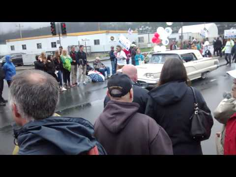 Willie @ July 4 Parade Juneau Alaska 2014