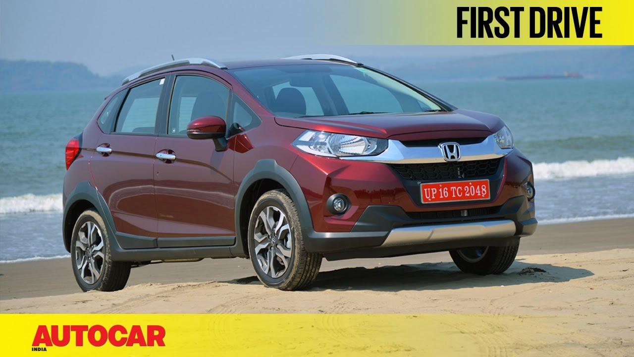 Honda Wr V First Drive Autocar India Youtube