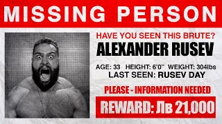 Why You're Not Seeing Rusev On WWE TV Right Now
