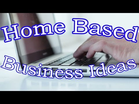 Home Based Business Ideas That EVERYBODY Should START With