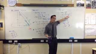 The Conical Pendulum (2 of 2: Determining Tension, Angle & Height)