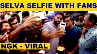 Director Selvaragavan Spotted at Sathyam Cinemas with Fans – Viral Video