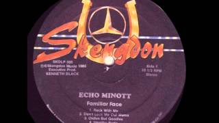 Echo Minott - Eat Out My Pay
