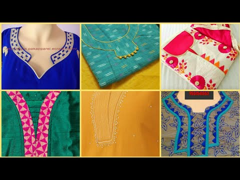 47+ Beautiful New Churidar Neck Designs For Kurti,kameez,Frocks & Top