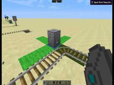Updated Railcraft Signalling Tutorial