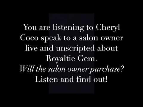 Live Royaltie Gem Conversation with Salon Owner
