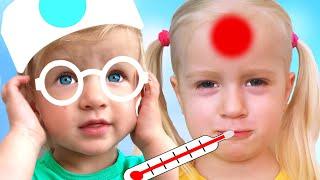Lagu Dokter | Doctor Song | Lagu Anak-anak dari Katya dan Dima