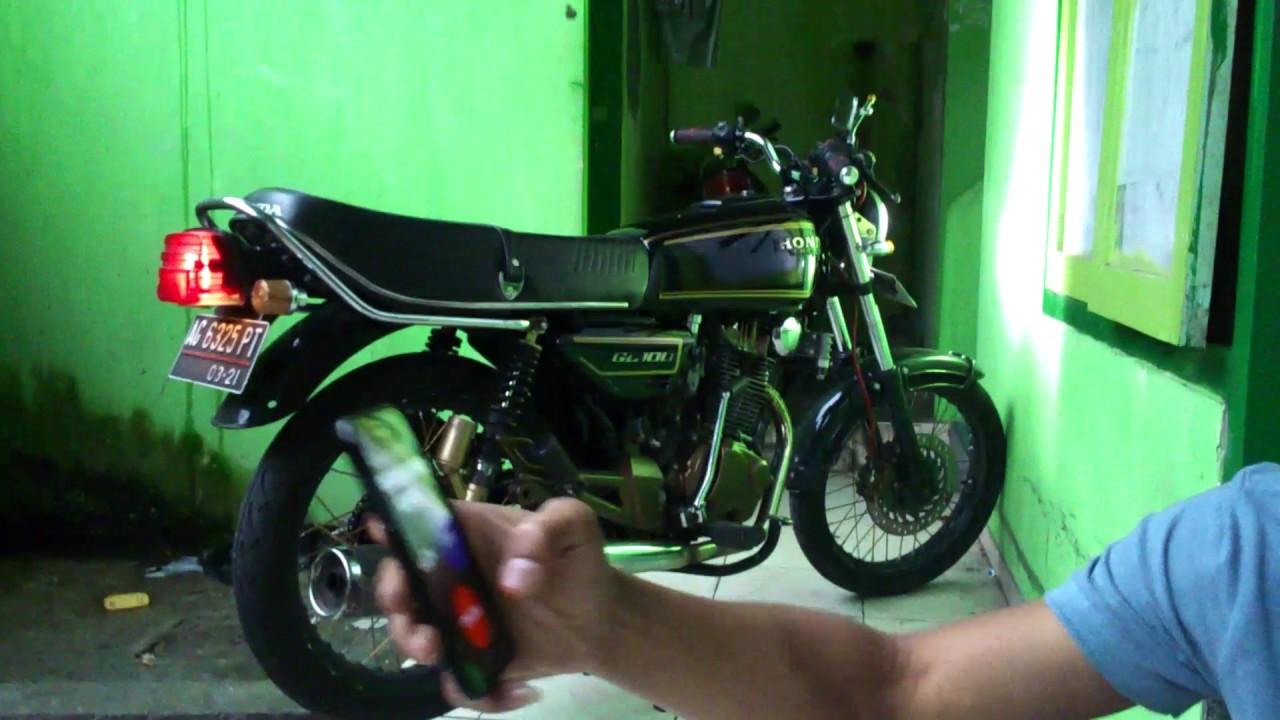 Menghidupkan Dan Starter Motor GL CEPEK GL 100 Menolak Punah