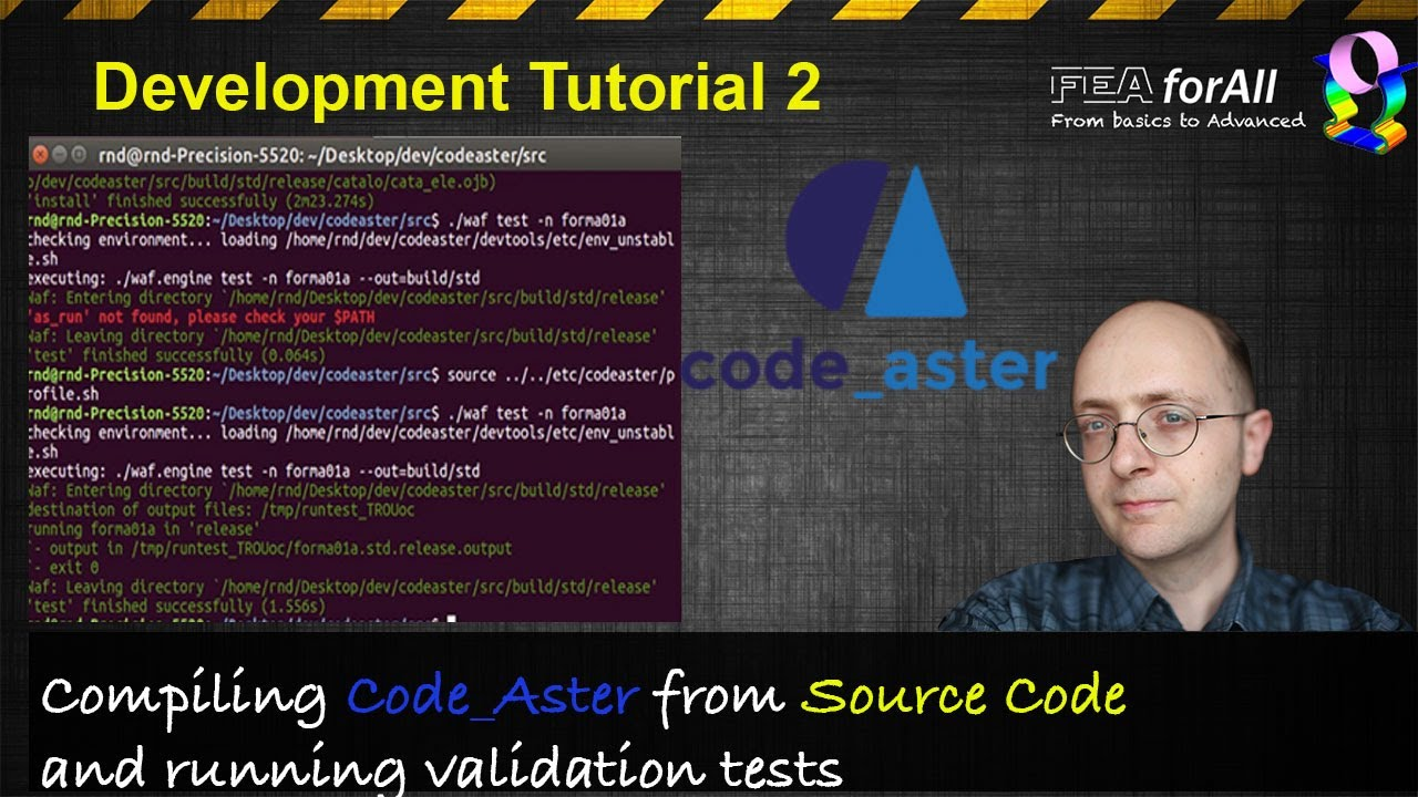 Code Aster Dev Tuto 2] How to compile Code Aster from Source