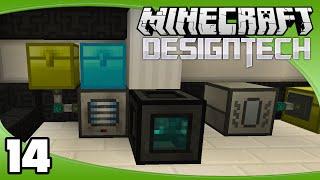 DesignTech - Ep. 14: Cinnabar & Shiny   Minecraft Custom Modpack Let's Play