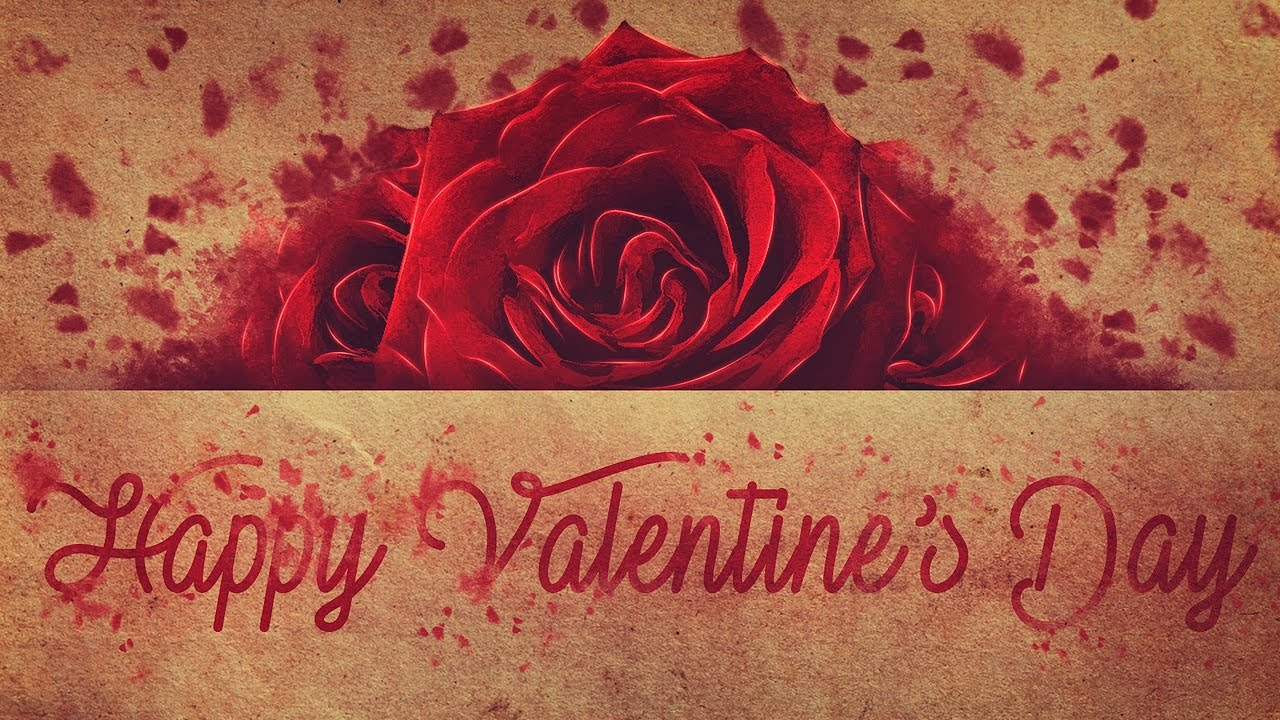 Create A Valentine S Day Wallpaper Photoshop Tutorial Youtube