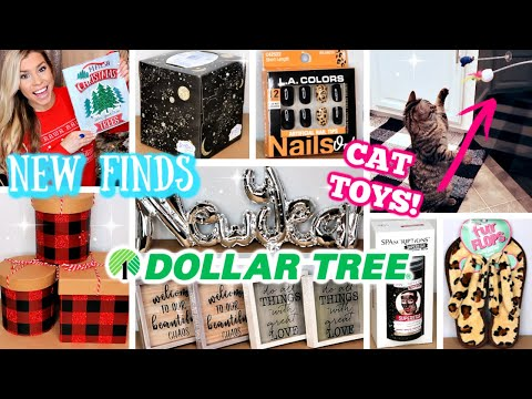 DOLLAR TREE HAUL   NEW FINDS DECEMBER 2019