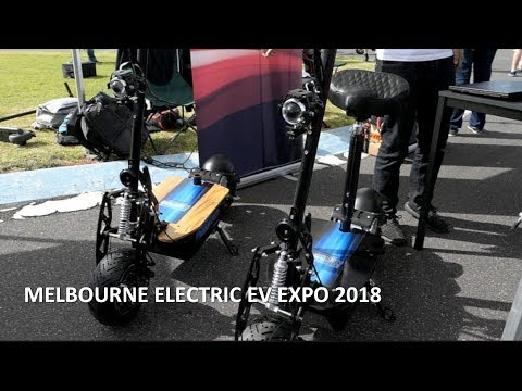 Melbourne Electric Vehicle Expo 2018