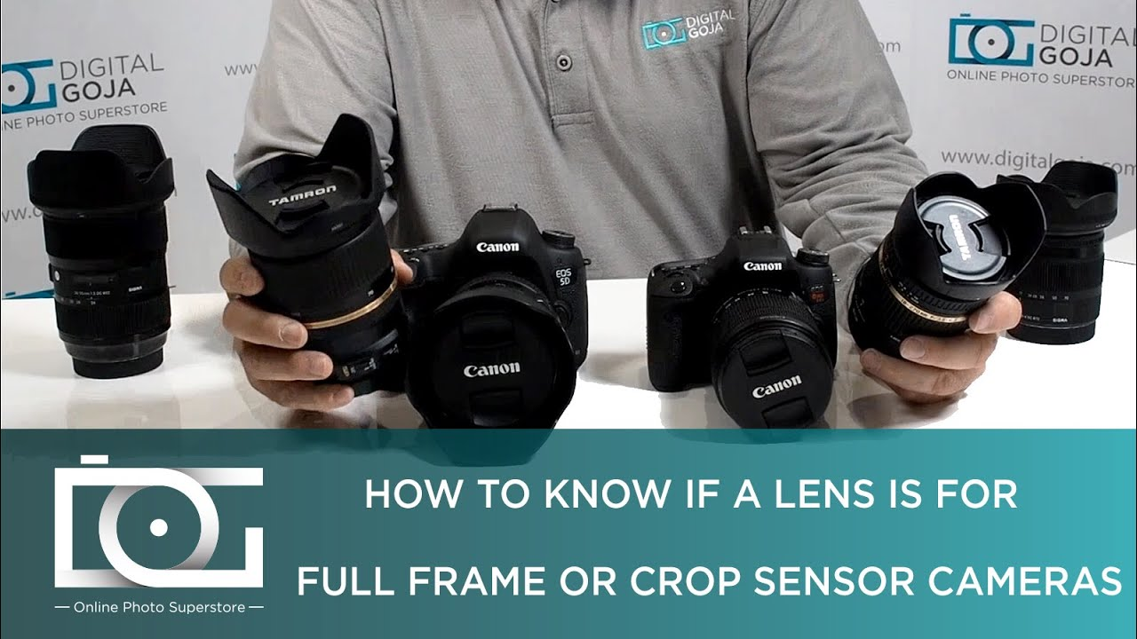 FULL FRAME LENS ON CROP SENSOR | Difference Between a Lens for Full ...