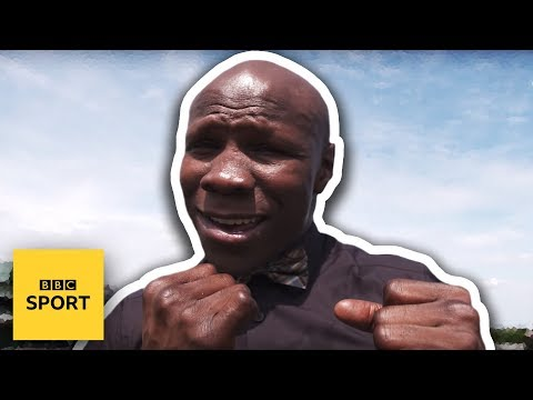 Wimbledon 2017: Chris Eubank gives bizarre interview - BBC Sport