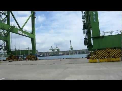 Port of Singapore Cranes