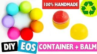 DIY | Make an EOS Container + Lip Balm 100% Handmade