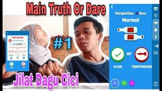 #1 VLOG!! MAIN APLIKASI TRUTH OR DARE!!! ROMANTIS!!! IBNU JILAT DAGU!! screenshot 1