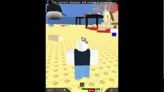 roblox disaster survive or die part 1
