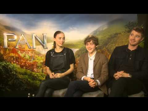 Pan - Interview With Levi Miller, garrett Hedlund & Rooney Mara