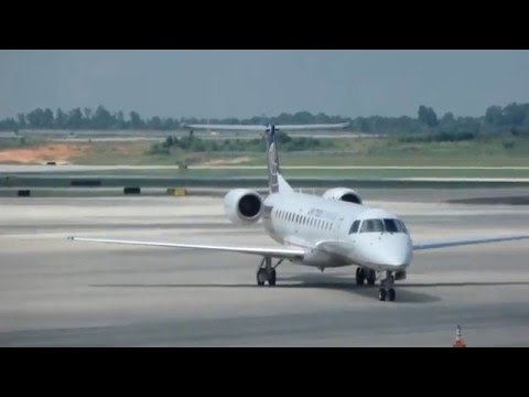 United Express (Expressjet)/Charlotte-Chicago ORD/ERJ-145/Economy/JUL2014